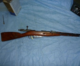 Cleaning your new Mosin Nagant rifle/modding the bolt to close easily
