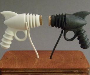 Porcelain Salt and Pepper Ray-guns