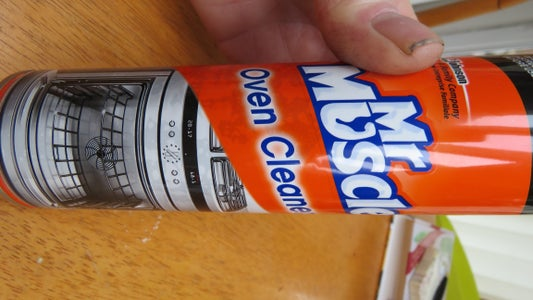 Mr Muscle Oven Cleaner Contains (Sodium Hydroxide)