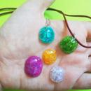 Translucent Plastic Bottle Gemstones