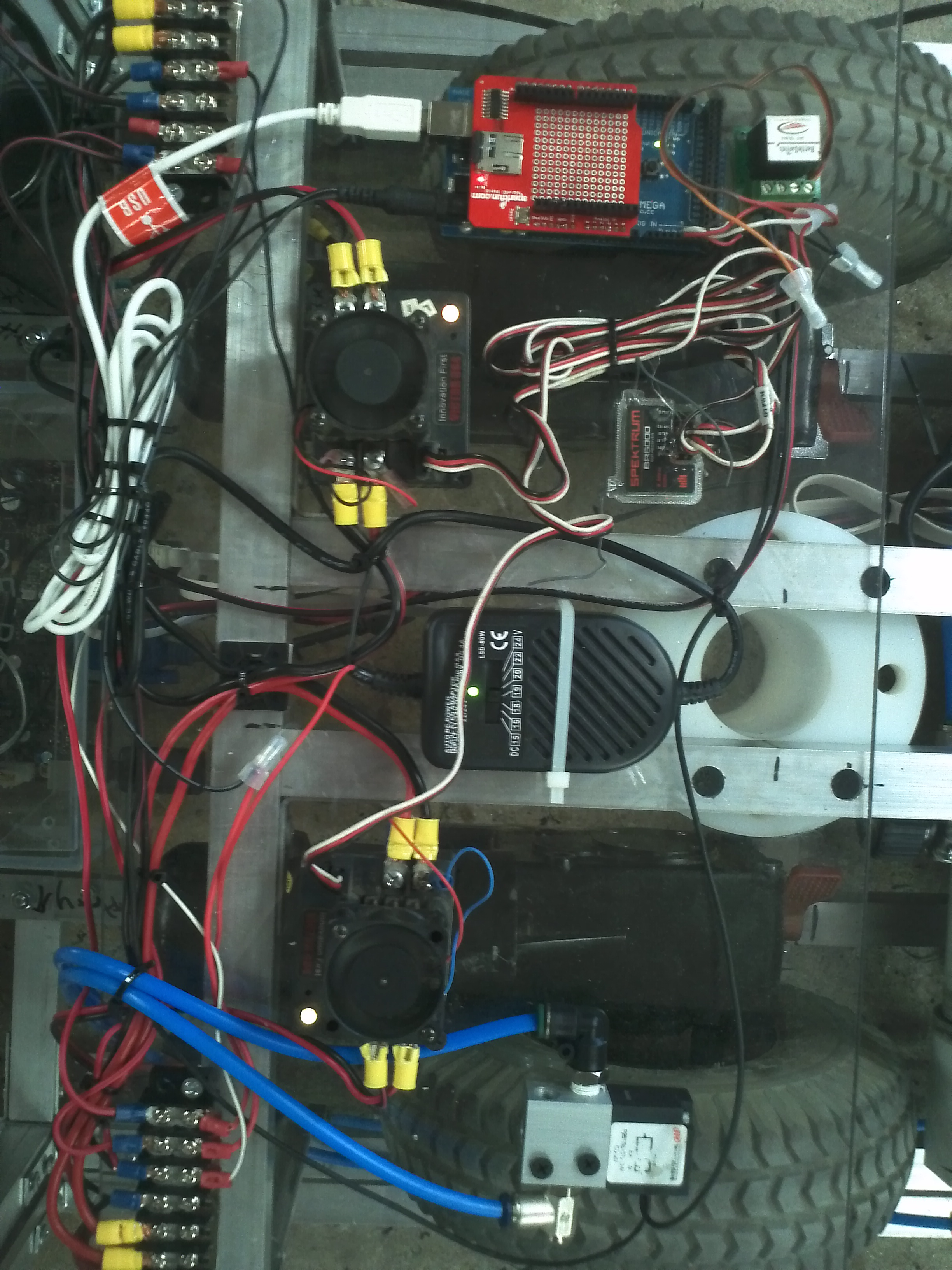 Picture of Finishing the Electronics...