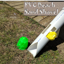 PVC Beach Sand Shovel