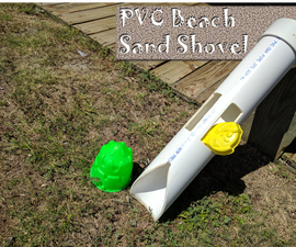 PVC Beach Sand Shovel