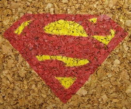 Superman Cork Coasters