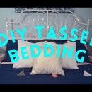 DIY Tassel Bedding