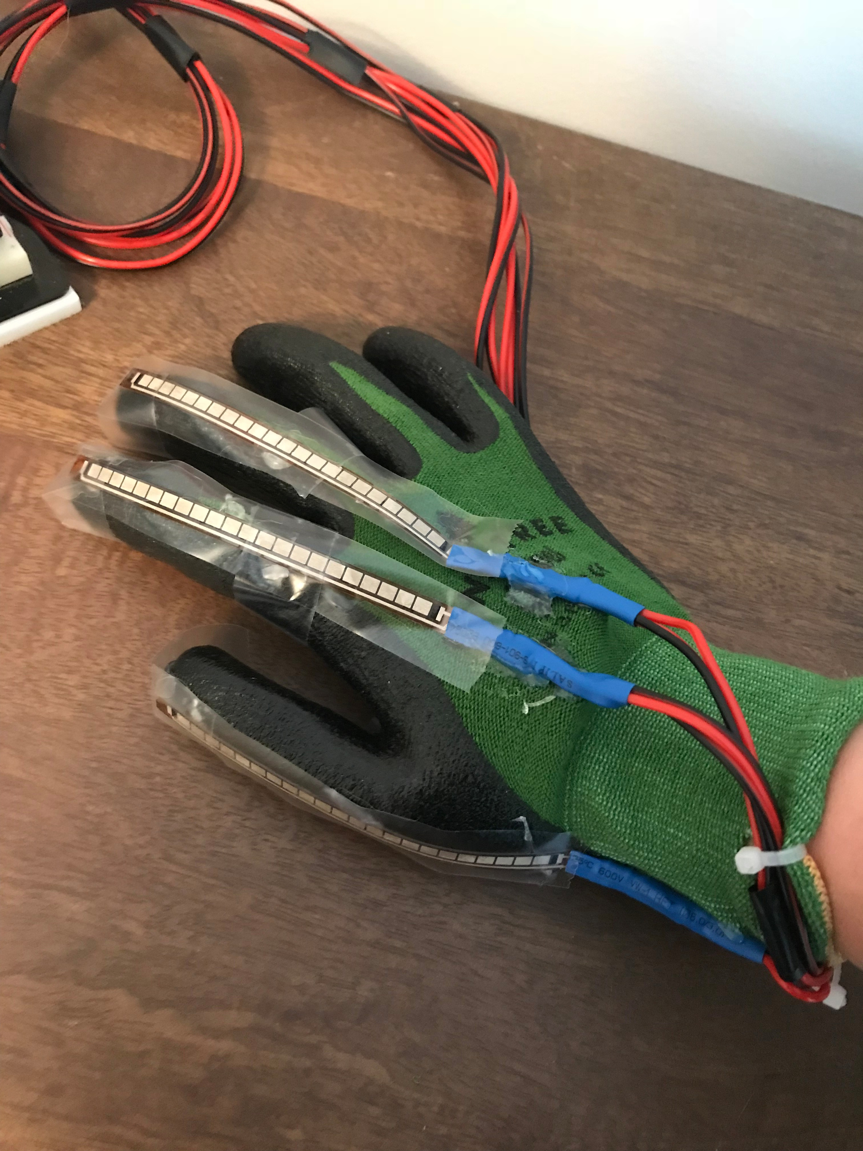 Picture of Mechanical Construction of Glove