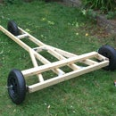 Wood Chassis for 3-wheeled Soapbox Kart