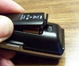 Fix a Weak Battery Door Catch