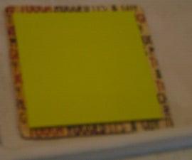 coaster postit note