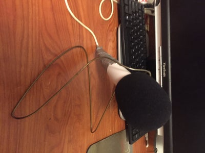 Cheap Wire Hanger Microphone Stand (No Cutting or Taping Necessary