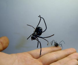 Realistic Spider (Life-Size Prop)