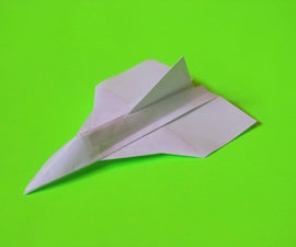 How To Make The Delta-Fighter Paper Plane