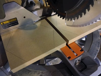 Acquire MDF Panels and Cut to Size