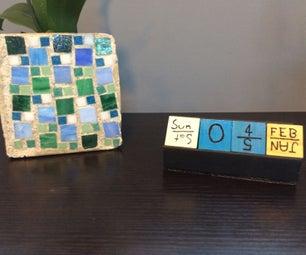 DIY Cubes Calender 2.0