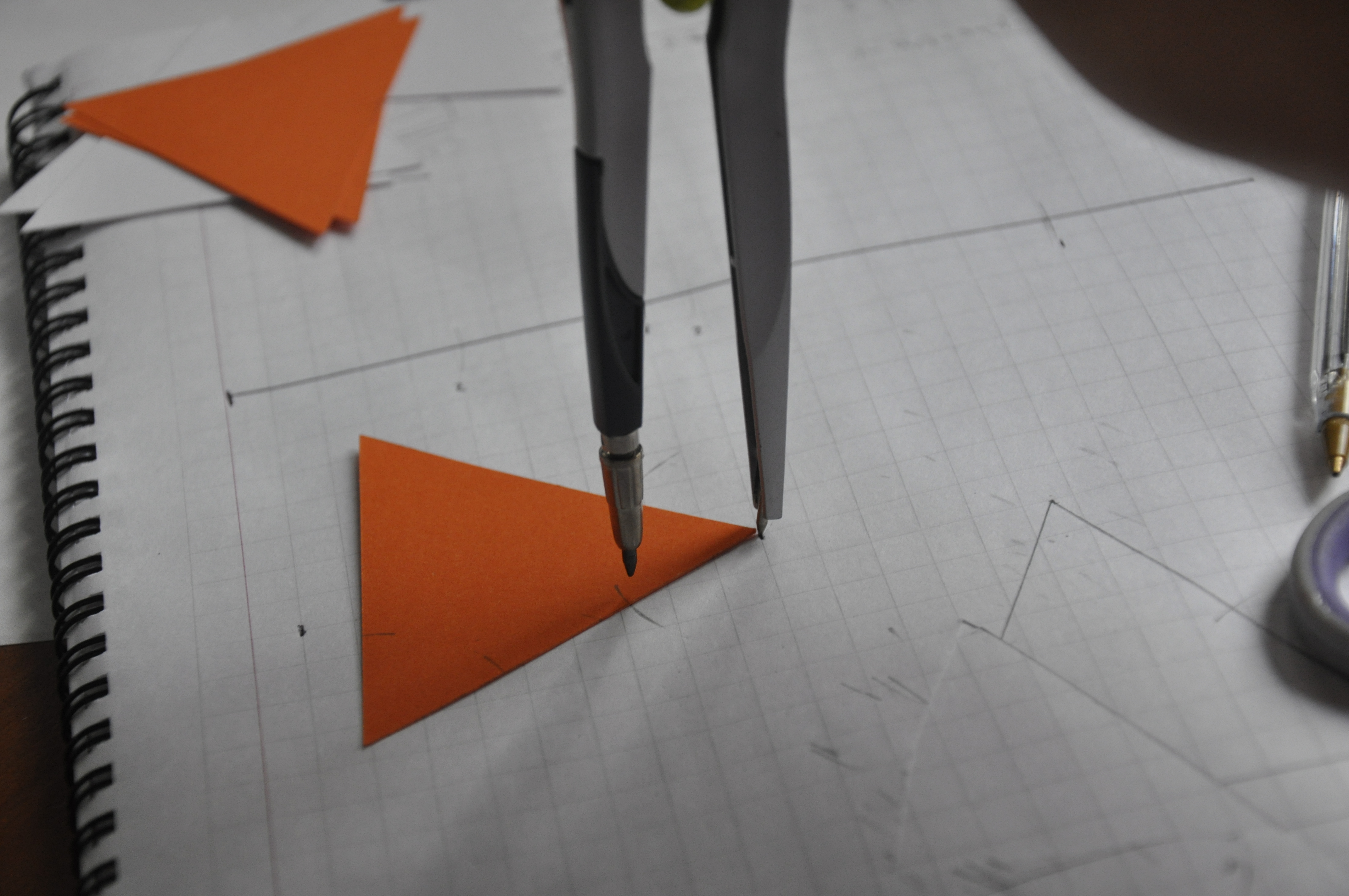 Picture of Preparing the Triangles