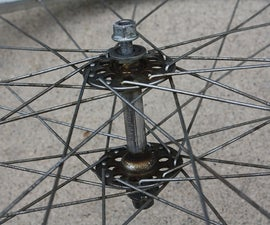 How to Rebuild a Bicycle Front Wheel Hub Using Simple Tools