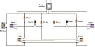 Simple Dc to Ac Inverter Make : 3 Steps (with Pictures) - InstructablesInstructables