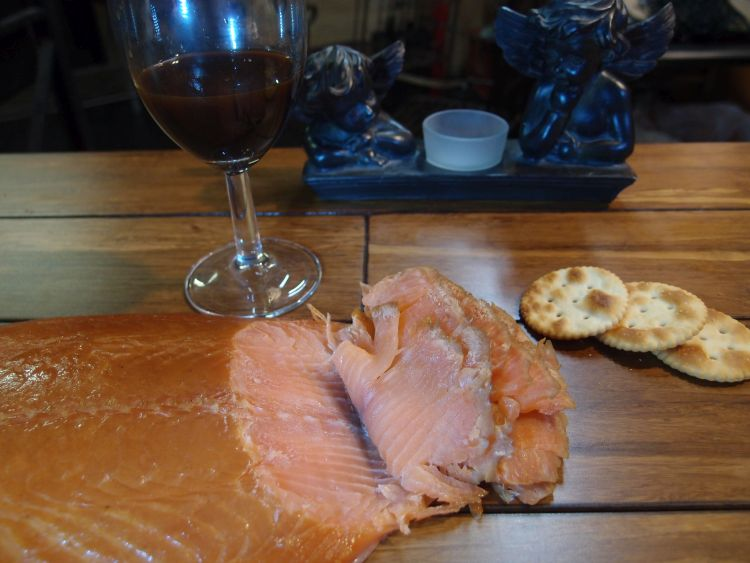 Picture of Simple Smoked Salmon