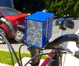 Kilo-Lumen Bike Headlight