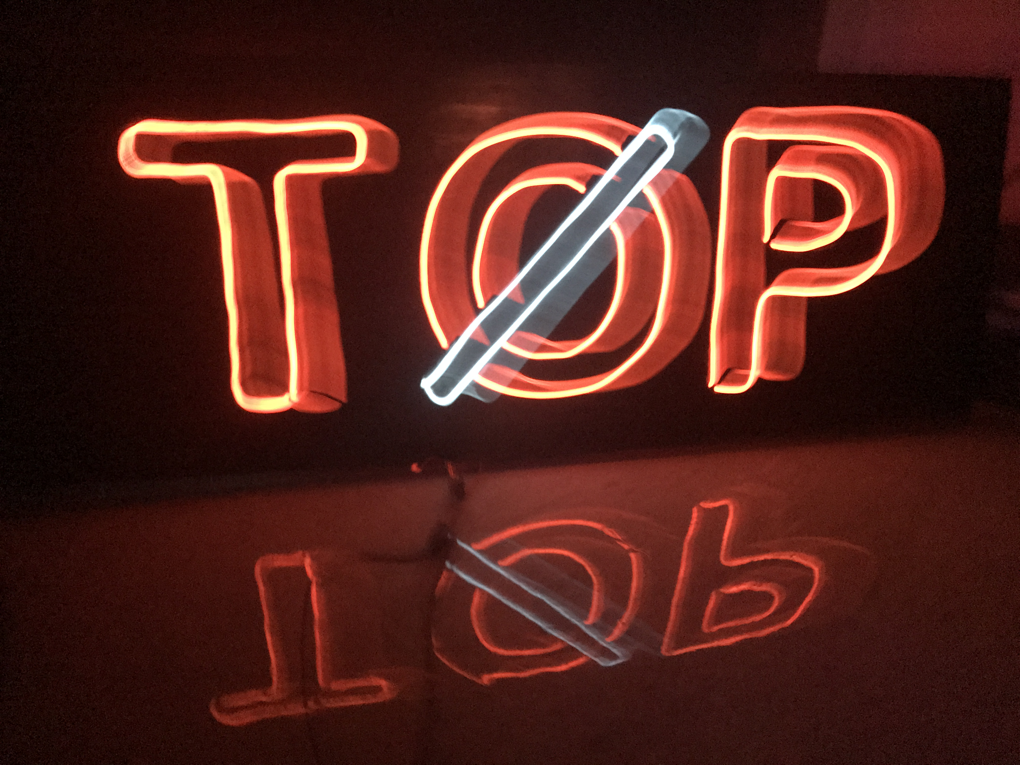Picture of Electroluminescent Sign