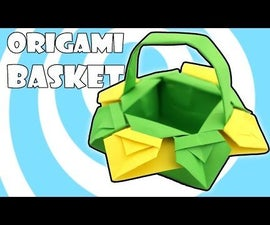 Easter Origami Basket