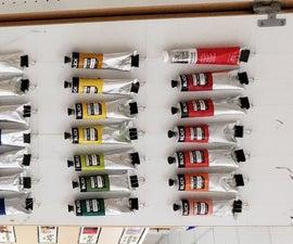 Tube Paint Organizer