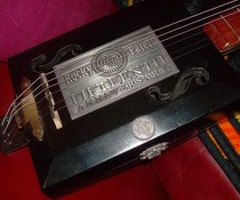 Black Beauty Cigar Box Guitar