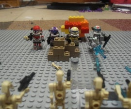 Making a Custom Lego Clone Commando