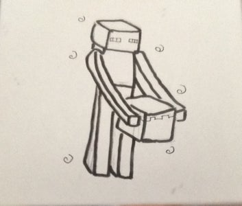 How to Draw an Enderman