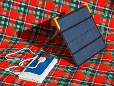Harvest More Sun Power - Stand for Tiny Solar Panel