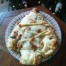 Spinach Christmas Tree Pie