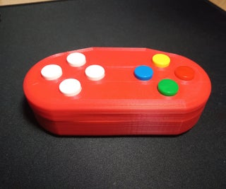 Wireless Gamecontroller With Arduino and NRF24L01+ (support for One or Two Controllers)