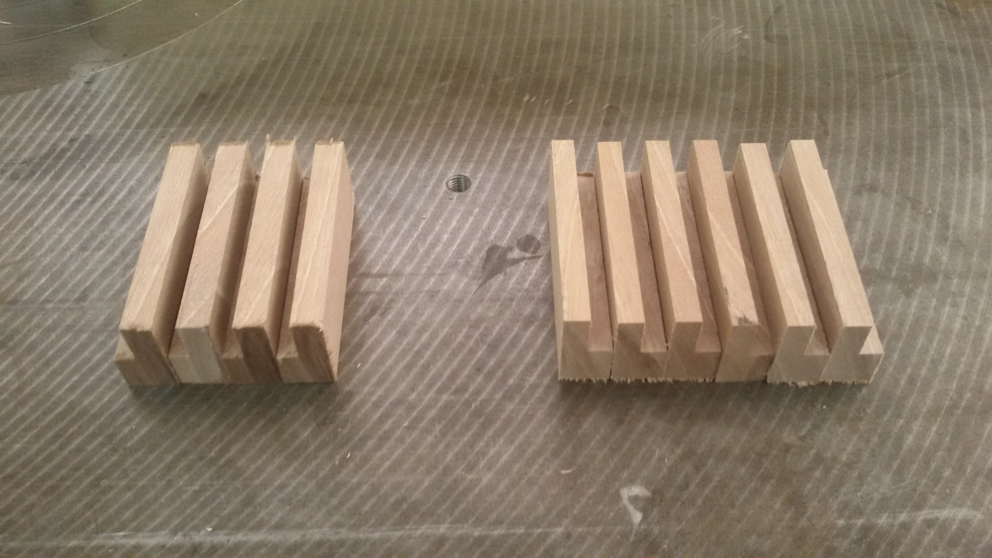 Picture of Making Bases of Mounting and Dismounting