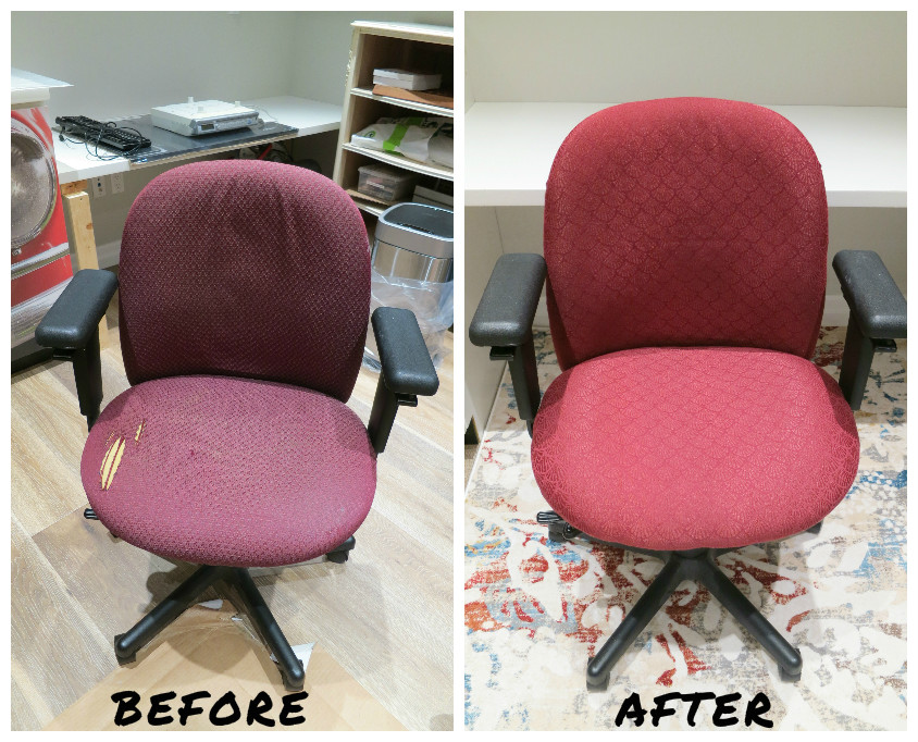 Picture of Reupholster an Office Chair