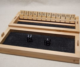 The Traveler Shut The Box Game