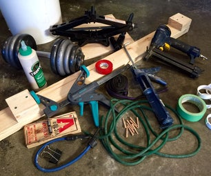 Improvised Woodworking Clamps