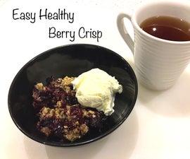 Easy Healthy Berry Crisp