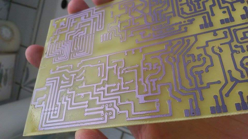 Picture of Tinning the PCB