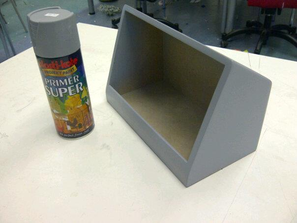Picture of Priming the Shell