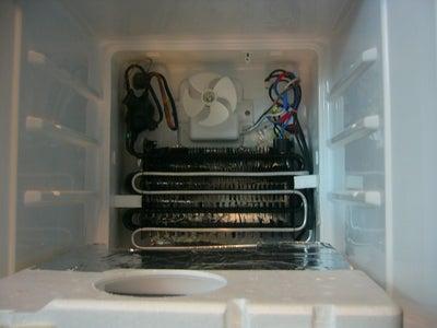 Repairing the Girlfriend's Mini Fridge/Freezer