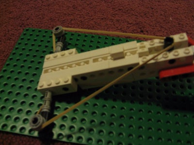 How to Make a Lego Crossbow That Shoots