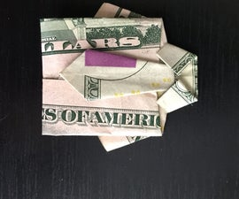 Dollar Bill Origami: Shirt & Tie