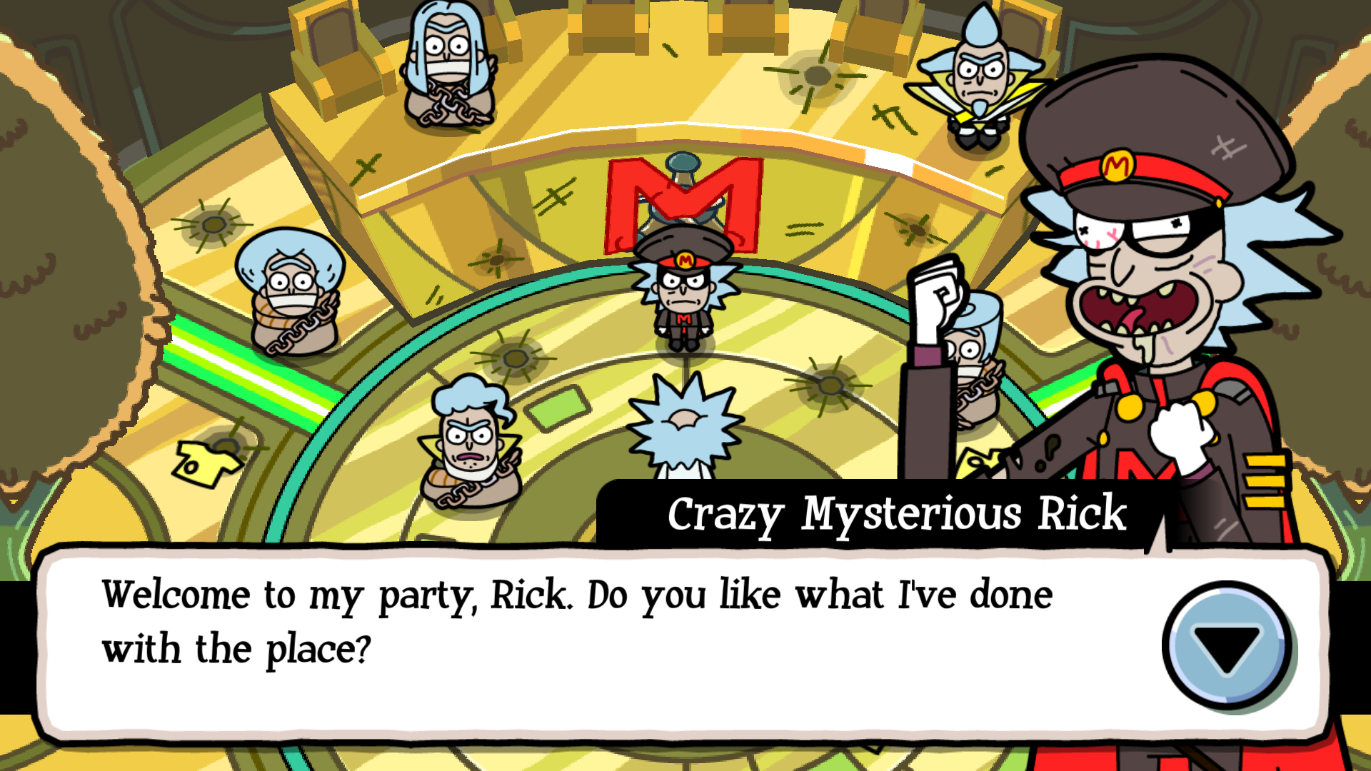 Picture of Collect the Final Set of Badges and Beat the Mysterious Rick