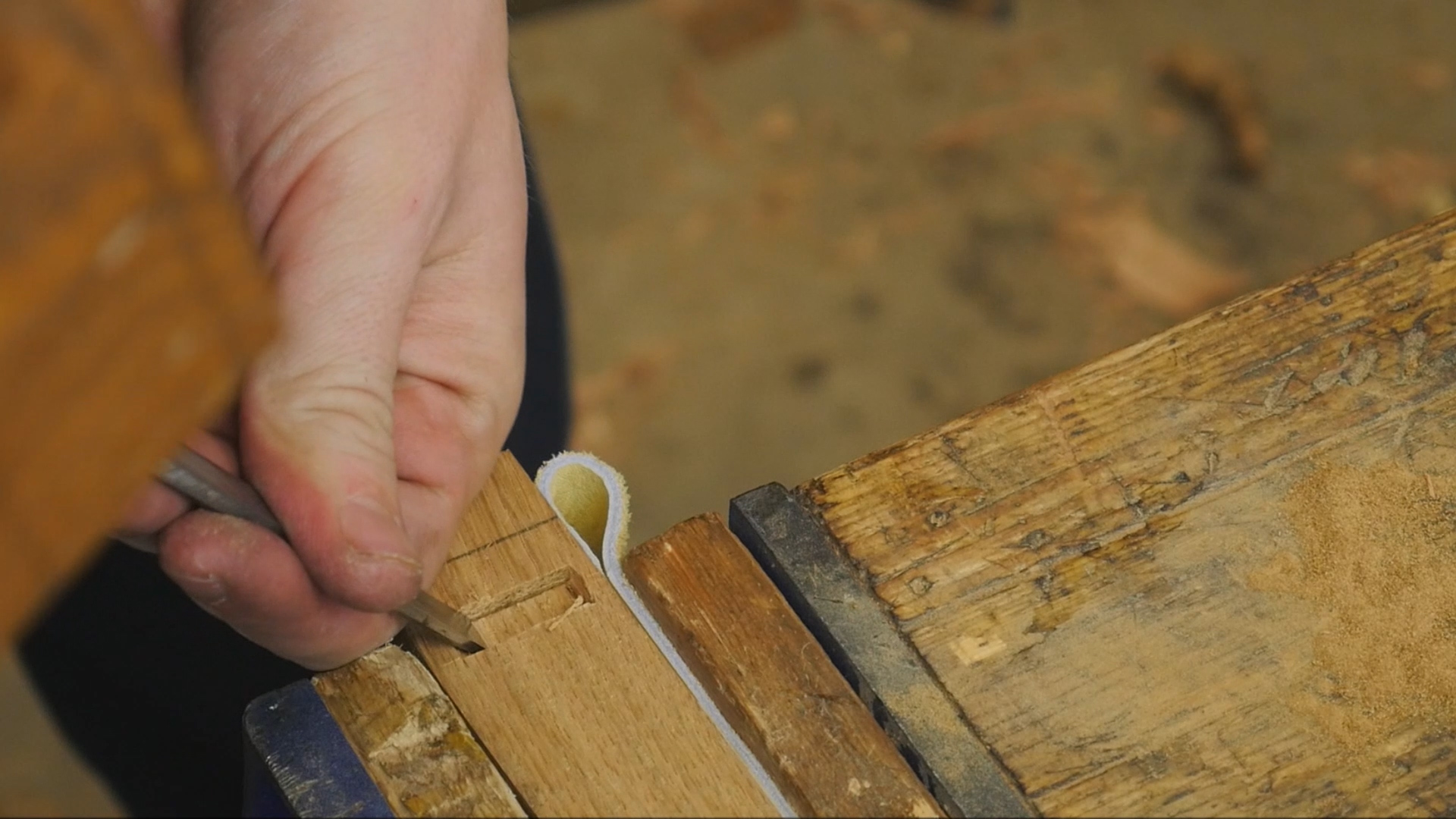 Picture of Cut Mortise