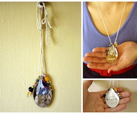 Make Your Own Hand-Stamped Spoon Necklace