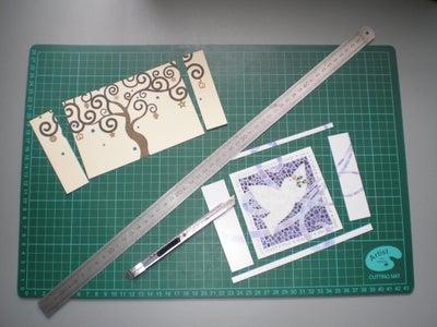 Cut the Old Cards / Recorta Las Tarjetas Viejas