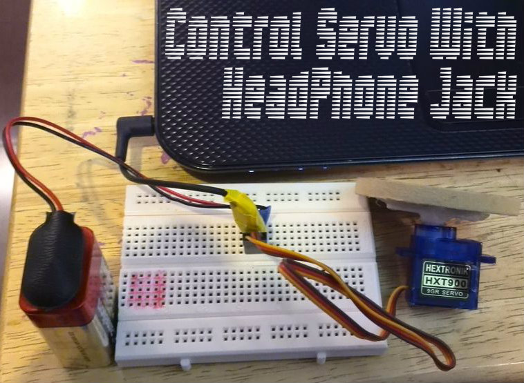 Picture of Control Servo With Headphone Jack