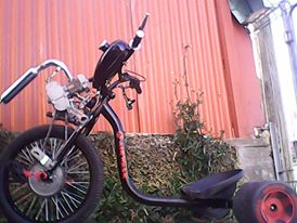 Picture of 50cc Fwd Drift Trike