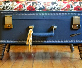 Make your own Vintage Suitcase Coffee Table