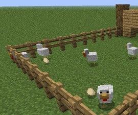 How to build a farm on minecraft